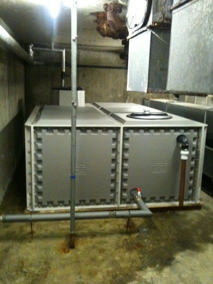 Water Tank Cleaning And Disinfection Chlorination